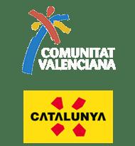 Marcas turísticas de la Comunitat Valenciana y Cataluña